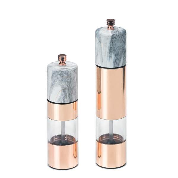 Holar - Salt And Pepper - Stainless Steel Mill - SS AC Series - SSAM-02RG - Main Photo