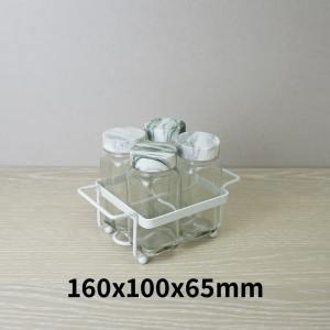 Salt and Pepper Shaker Set Holder of 4