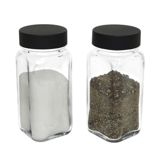 Holar - Salt and Pepper Catagory - Salt Pepper Spice Shaker Bottle - SP-06MBK Spice Jar - 2