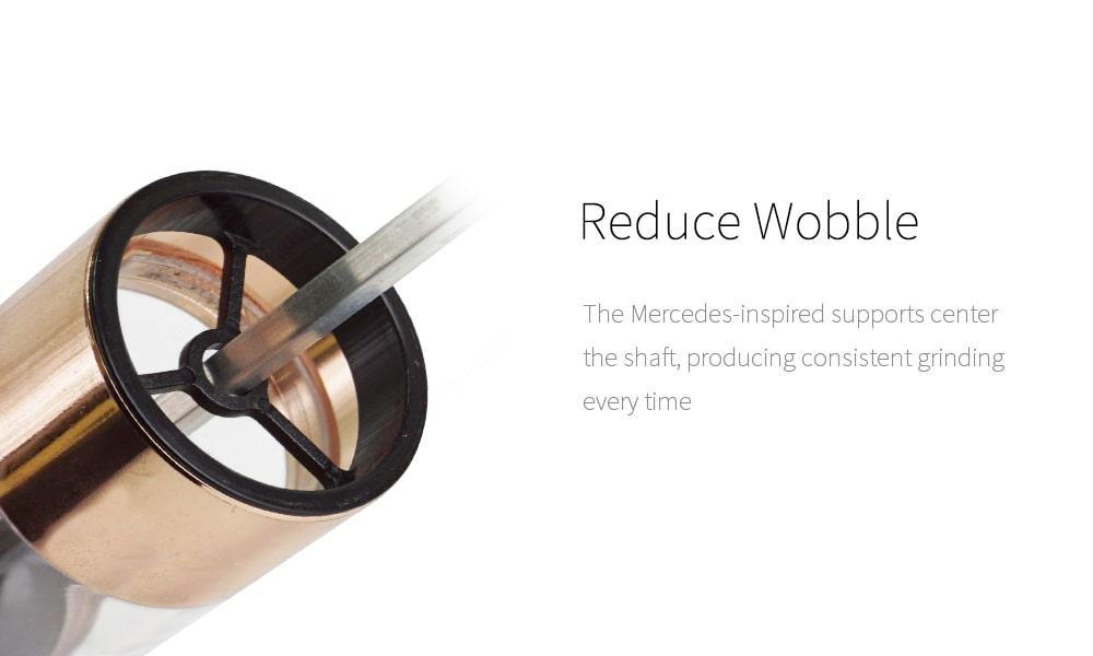 Holar reduce wobble mercedes-inspired Dispenser