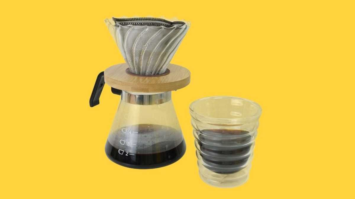 Holar reusable stainless steel coffee filter
