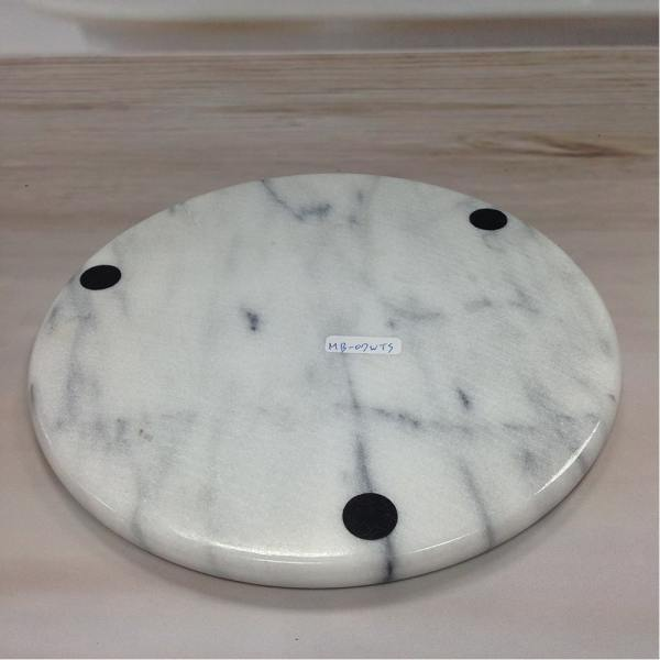 MB-07WTS Marble Serving Board for Cheese-2