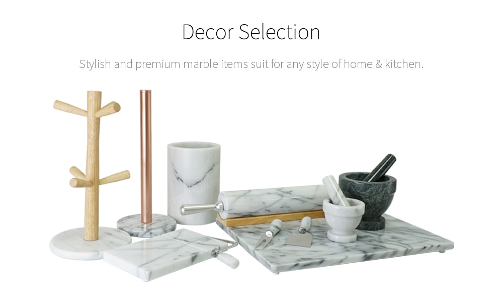 decorative marble kitchenware