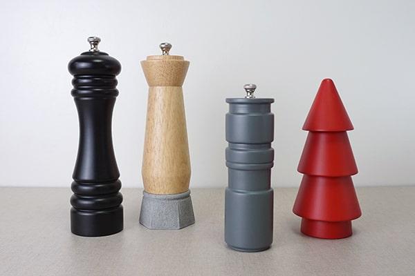 different color shape size salt and pepper grinder-Holar Blog-Sourcing Salt and Pepper Grinders