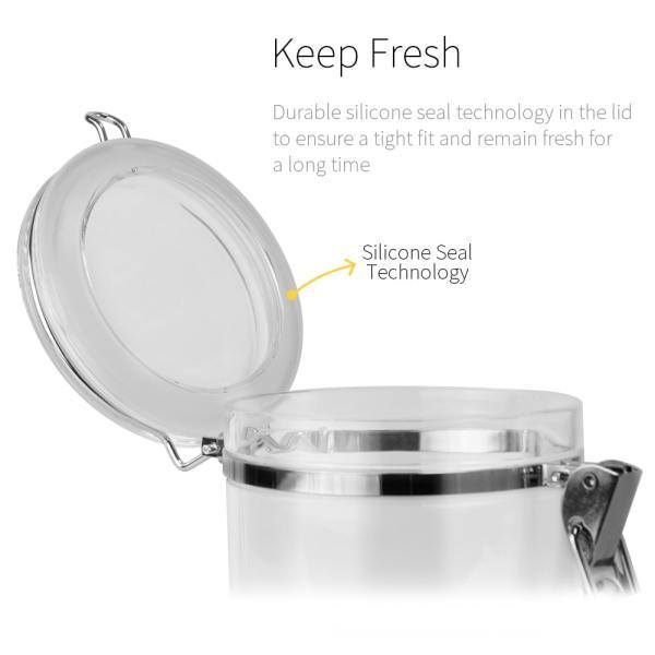 keep fresh with sealed lid_buckle series