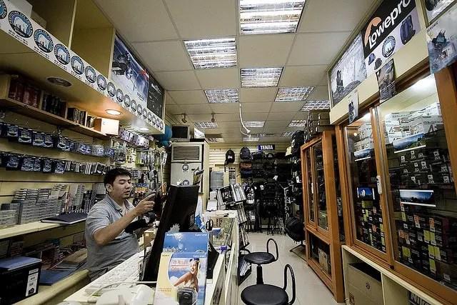 Hankou Street, la calle de las cámaras