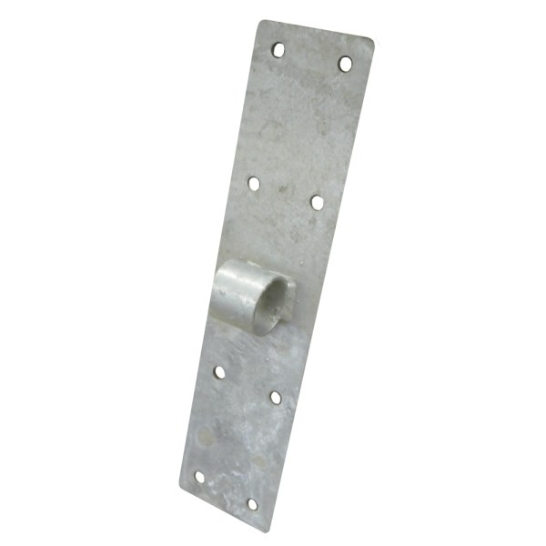 Metal Long Flat Bracket With Pipe