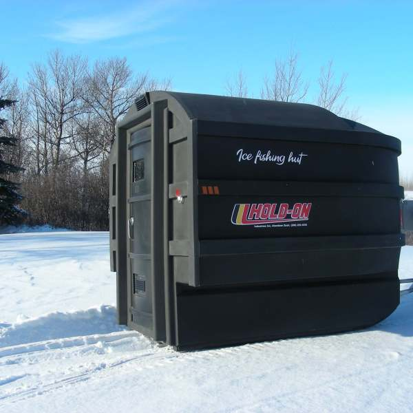 Deluxe Ice Fishing Hut