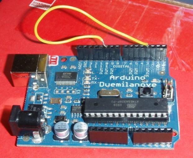 Arduino in Test Mode