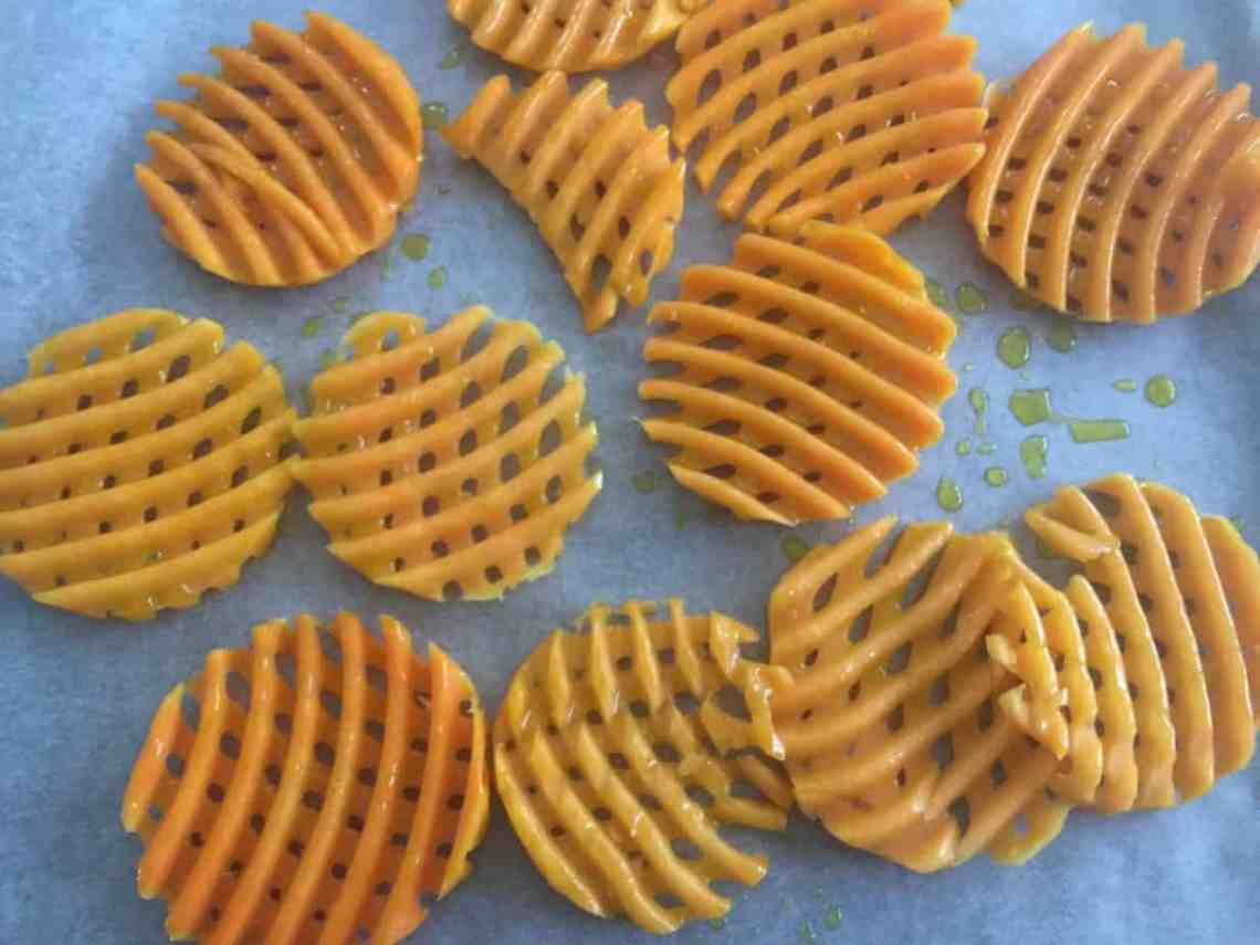 Sainsbury's Squaffles - Butternut Squash chips