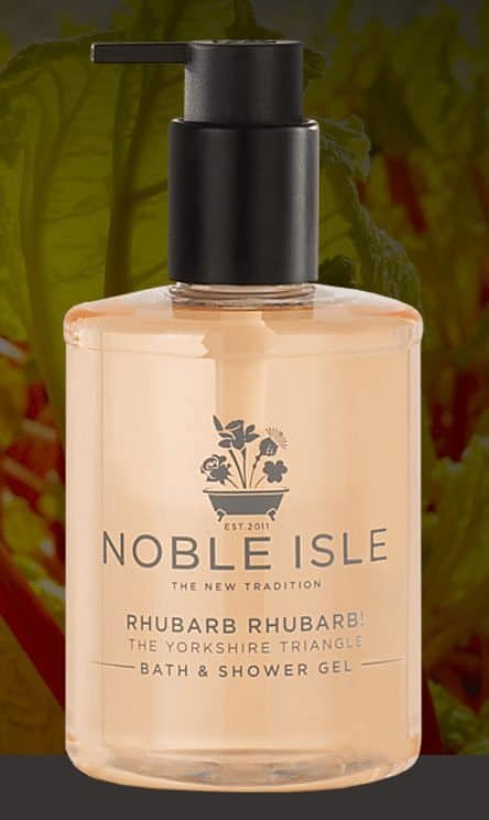Beauty Review: Noble Isle Rhubarb Rhubarb, Bath & Shower Gel