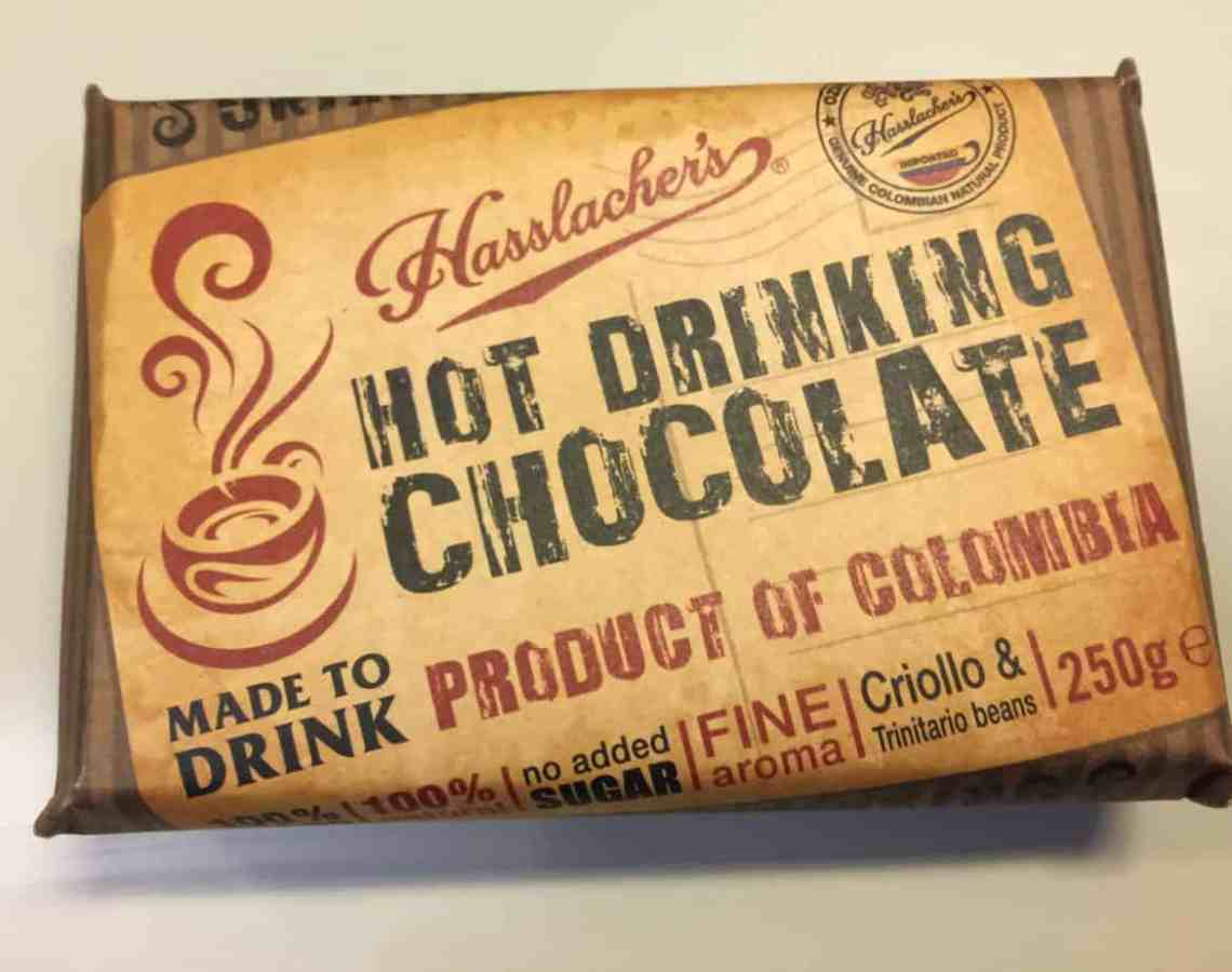 Hasslacher's Luxury Hot Chocolate