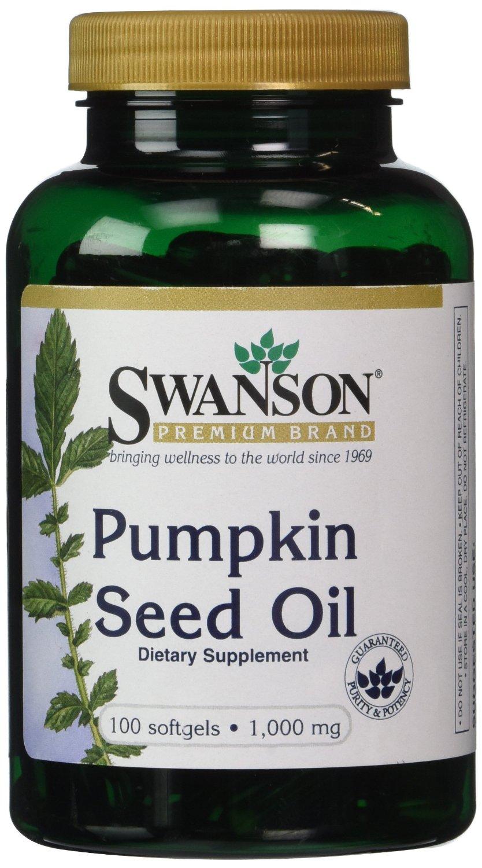 Swanson Premium Brand Pumpkin Seed Oil Hold The Hairline