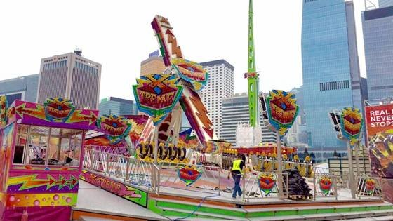 Xtreme at the Great European Carnival, Hong Kong. Photo by S&D Leisure.