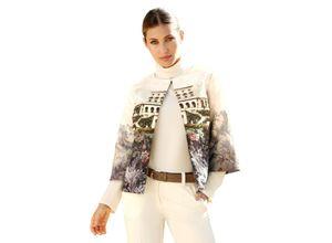 Damen Blazer AMY VERMONT Creme-Weiß/Grau
