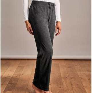 Komfortable Hose aus Baumwolle und Modal für Damen XS Anthrazit
