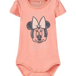 NAME IT Minnie Mouse Print Body Damen Orange