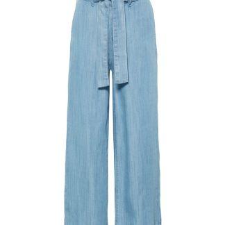 NAME IT Regular Fit Culotte Hose Damen Blau