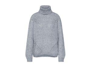 Pepe Jeans Damen - Pullover & Strickjacken 'CRYSTAL' grau