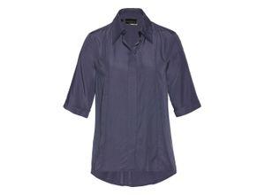 Premium Bluse 3/4 Arm in blau für Damen von bonprix