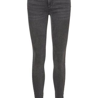 VERO MODA Vmlux Low Waist Slim Fit Jeans Damen Schwarz