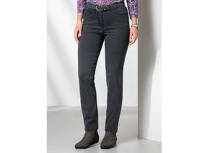Walbusch Damen Passform Jeans Regular Fit Regular Fit einfarbig Grey