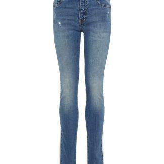NAME IT Längsstreifen Skinny Fit Jeans Herren Blau