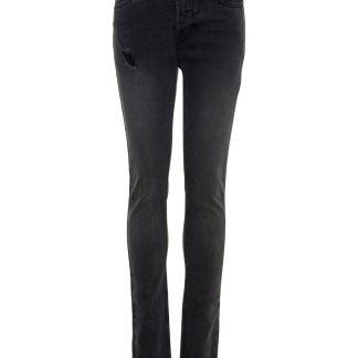 NAME IT Skinny Fit Destroyed-detail Jeans Herren Grau