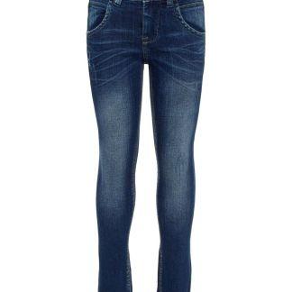 NAME IT Super Stretch Slim Fit Jeans Herren Blau