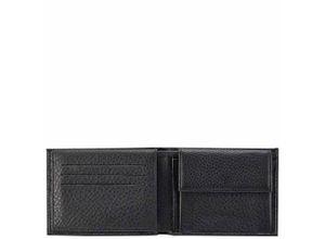 Piquadro Modus Herrenbrieftasche mit Portemonnaie, Kreditkartensteckfächern und Dokumentenfach