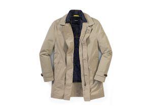 Walbusch Herren 2-in-1-Mantel in normalen Größen einfarbig Beige
