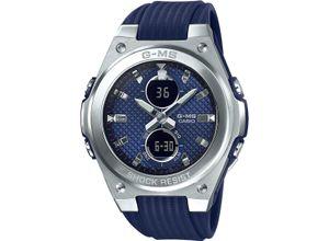 CASIO Damenuhr Casio Damen-Uhren Analog, digital Quarz, blau, EAN: 4549526223778