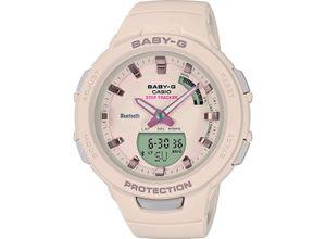 Casio Damen-Uhren Analog, digital Quarz, Rosa, EAN: 4549526203534