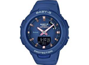 Casio Damen-Uhren Analog, digital Quarz, blau, EAN: 4549526203480