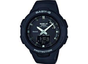Casio Damen-Uhren Analog, digital Quarz, schwarz, EAN: 4549526203435