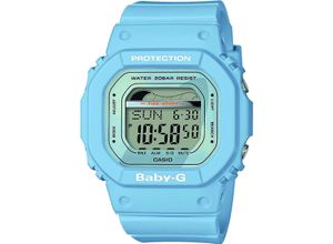 Casio Damen-Uhren Digital Quarz, blau, EAN: 4549526190209