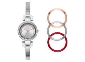 DKNY Damenuhr DKNY Damen-Uhren Quarz, silber, EAN: 4013496711288