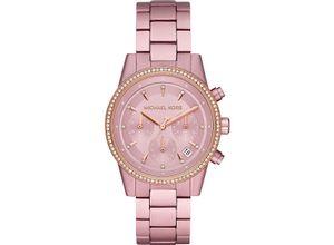 MICHAEL KORS Damenuhr Michael Kors Damen-Uhren Quarz, Pink, EAN: 4013496715293