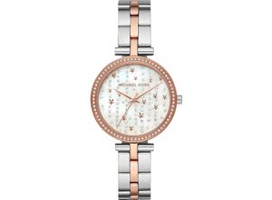 MICHAEL KORS Damenuhr Michael Kors Damen-Uhren Quarz, mehrfarbig, EAN: 4013496714357