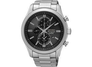 Seiko Damen-Uhren Analog Quarz, silber, EAN: 4954628210432