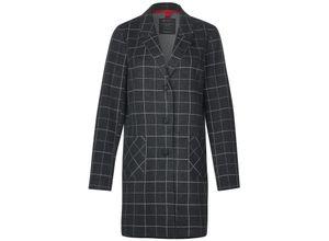 Street One Mantel im Blazer-Look grau, Gr. 40 - Damen Mantel