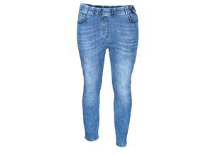 Via Appia Due Modische Jeans mit Zierstreifen mittelblau, Gr. 52 - Damen Jeans