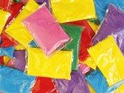 holi powder bags