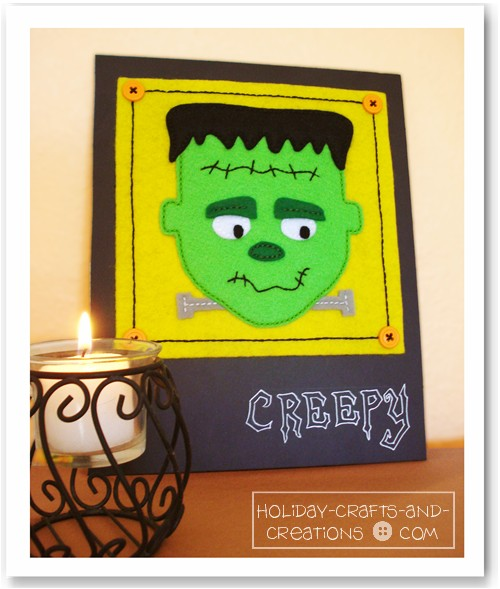 Felty Frankenstein Appliqué