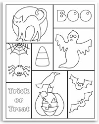 halloween coloring pages for kids free printables mickey pumpkin