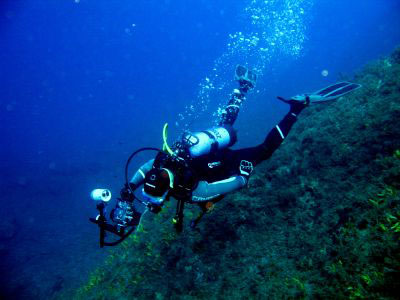 Diving PADI in Crete Greece