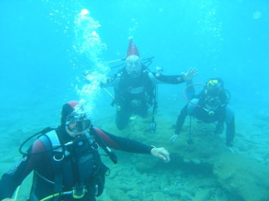 Diving in South Europe