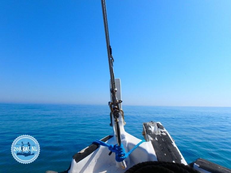 Active holiday sailing