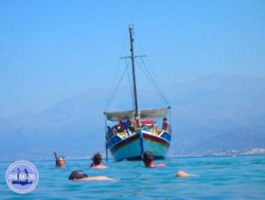 Boat trip on Crete photobook