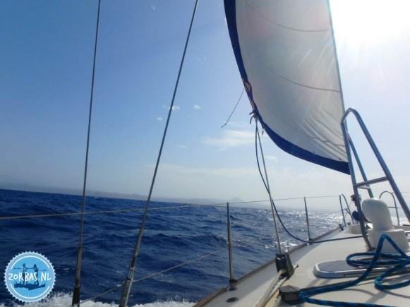 Sailing Egean Sea